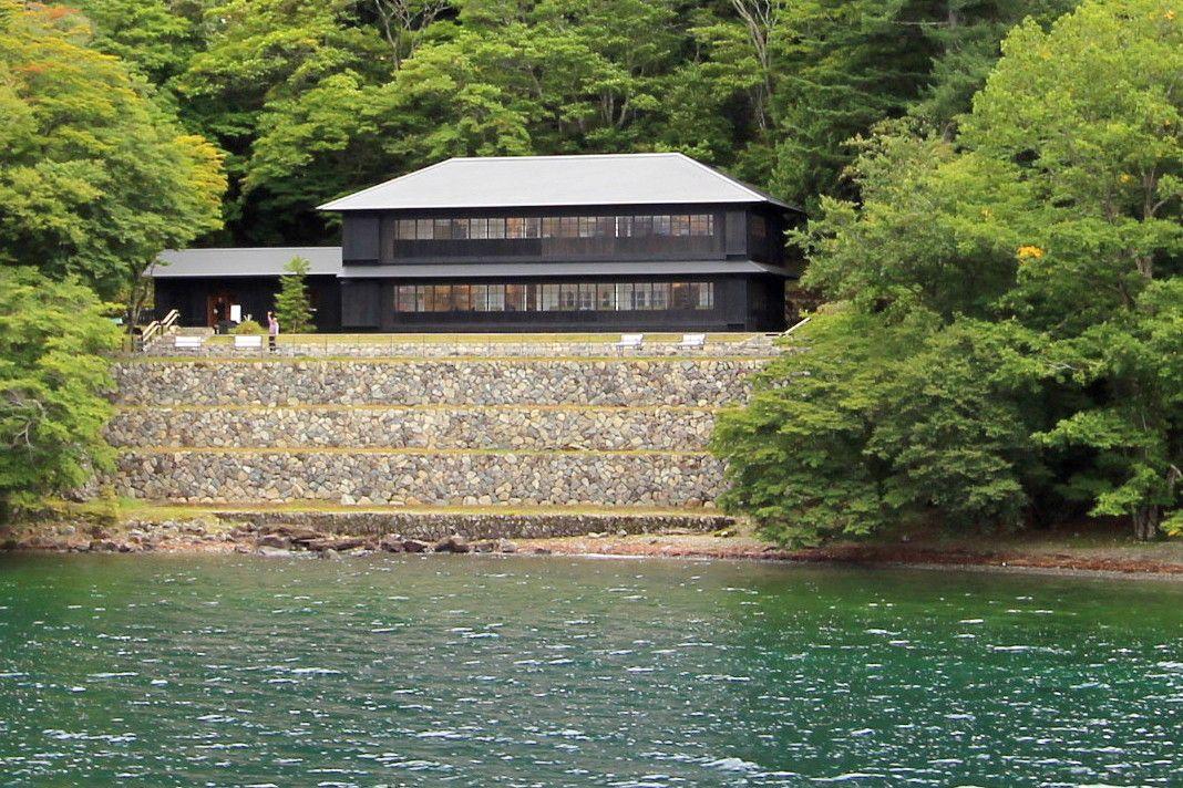 ゴール&ランチの後は、無料で中禅寺湖の遊覧船にも!