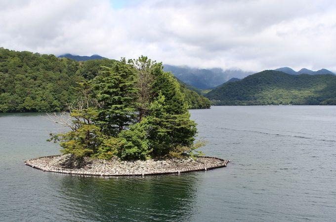日光の知られざるパワースポット「上野島」を間近で見よう