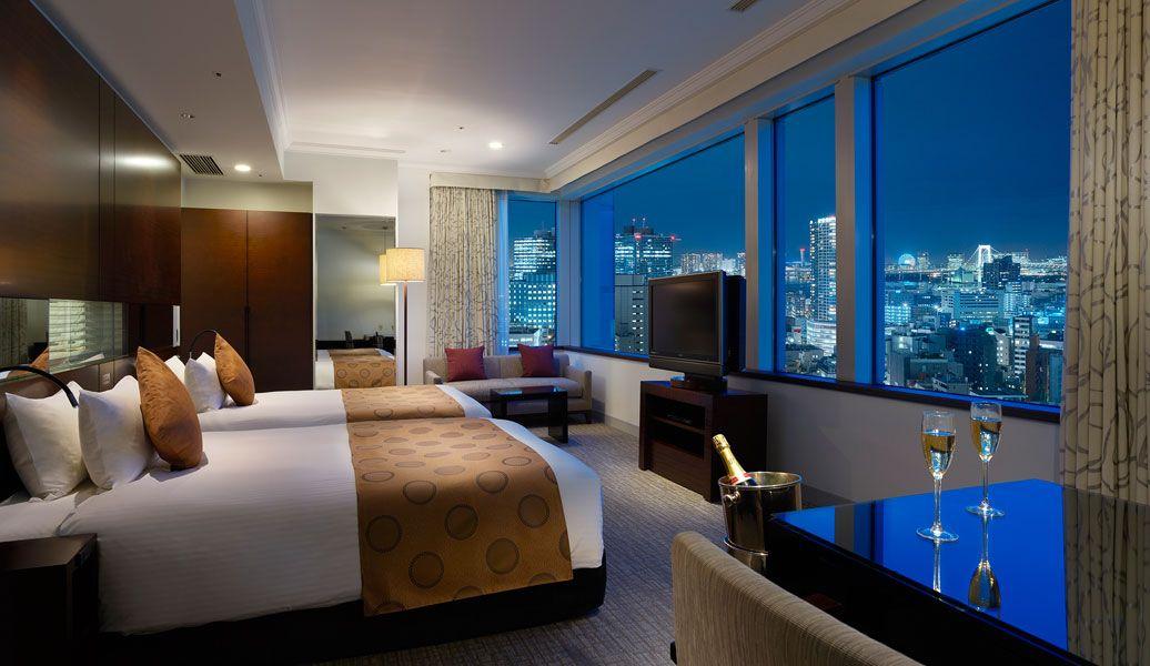 お手頃価格で眺望も堪能!夜景が綺麗な東京のホテル