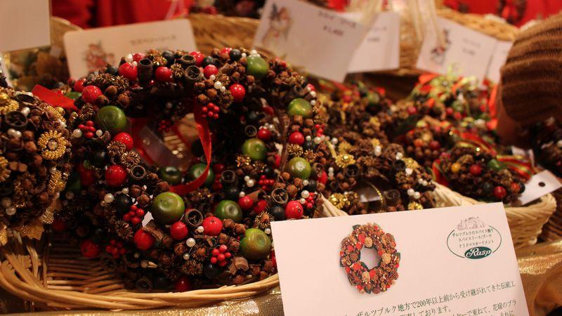 本場ヨーロッパのクリスマス飾りが可愛い!