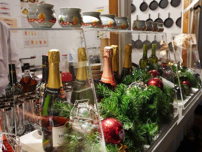 シーフード&シャンパンで乾杯!