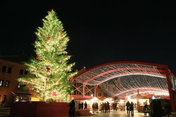 横浜 赤レンガ倉庫だから叶う!本場ドイツのようなクリスマスマーケット