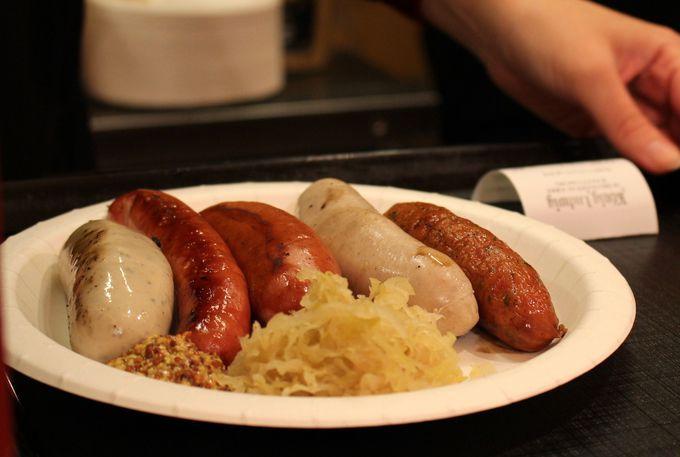 ドイツ料理もガッツリ食べよう