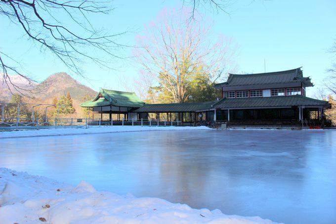 日光の冬を華やかに彩った日光金谷ホテルスケートリンク