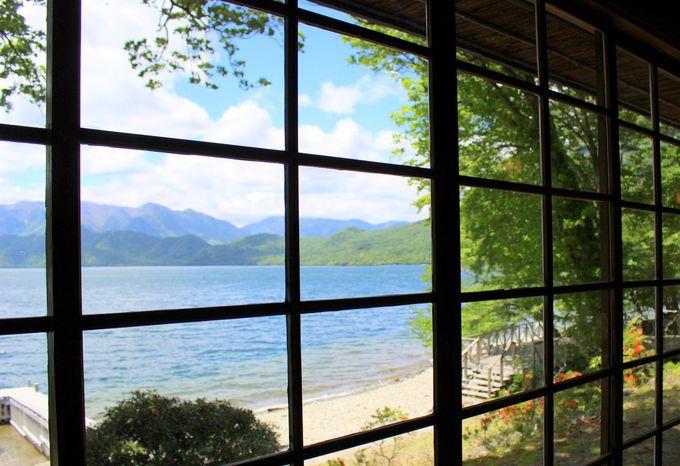 ヨーロッパの気候と風景にも似た中禅寺湖畔