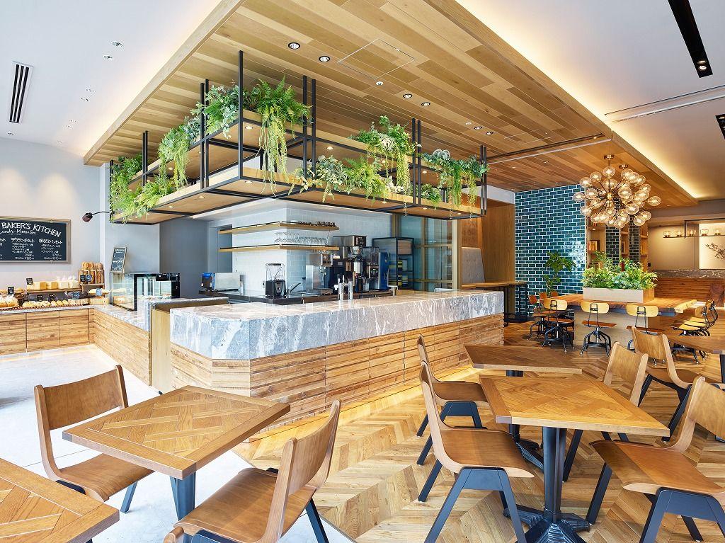 1.木の温もりと緑が演出する共用スペースが素敵快適!