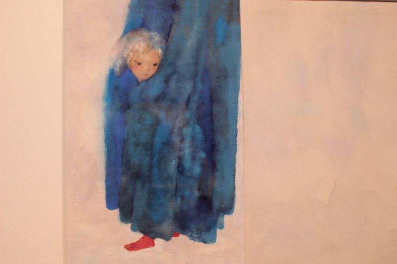 生誕100年「いわさきちひろ、絵描きです。」東京ステーションギャラリーでちひろと出逢う
