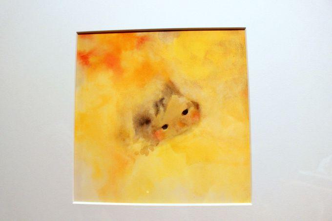 絵がすべてを物語るちひろの作品、そして高畑勲氏によるインスタレーション