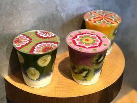 JTRRDcafeのアートスムージーがお手軽に!大阪なんばに待望のオープン
