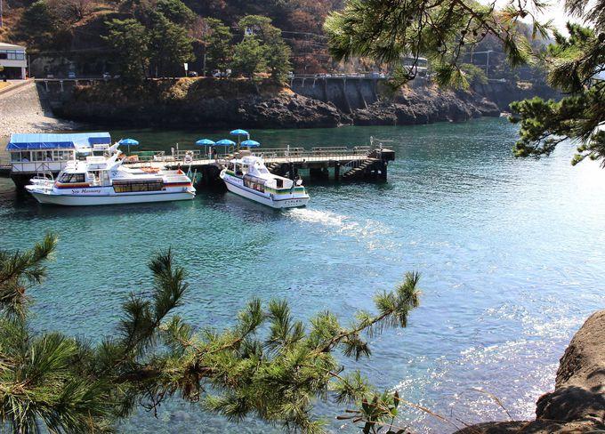 3日目午前:伊豆半島ジオパーク「堂ヶ島」洞窟めぐりクルージング
