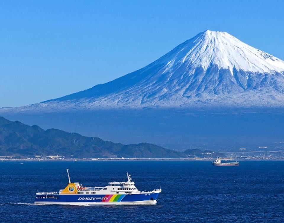 2日目午前:清水港〜富士山ビュークルージングで西伊豆へ