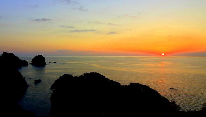 息をのむ絶景「堂ヶ島ニュー銀水」夕陽と海に酔いしれる!
