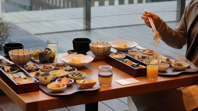 名料亭「浅田」の味を朝食ビュッフェで。浅田初の洋食も!