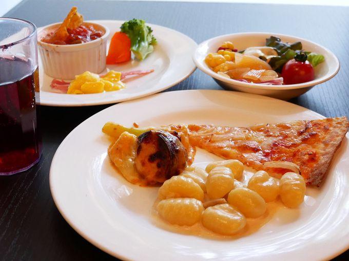 イタリア料理・和食・スイーツを豪華ビュッフェで堪能!