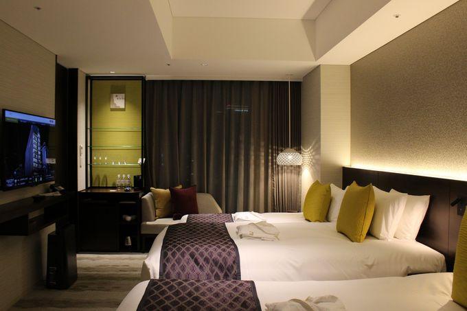 快適な客室は6タイプ、ファシリティもアメニティーも完璧!