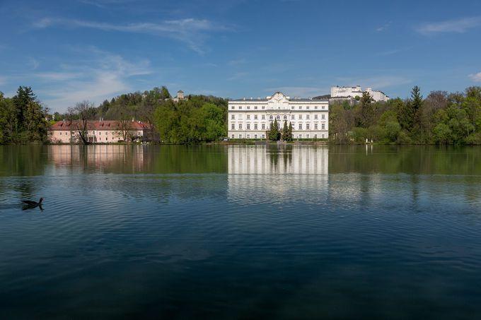 トラップ邸のロケ地となった宮殿の歴史秘話