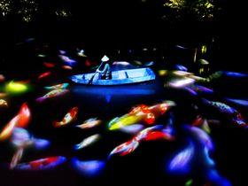 佐賀・御船山楽園「チームラボ かみさまがすまう森」武雄の聖地で幻想のアート展