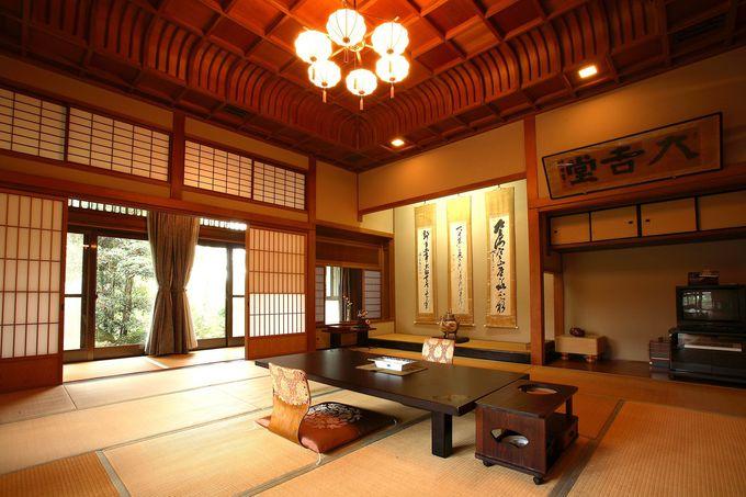鍋島家第11代直大公の別邸を移築した「別邸 内庫所」