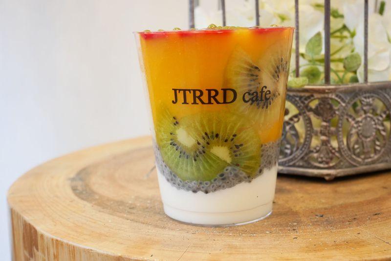 JTRRD cafe 京都店のスムージーラインナップ