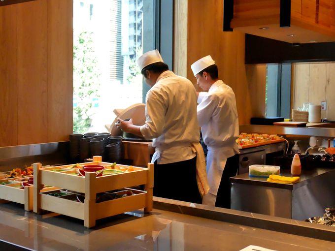 名料亭歴任の玉田料理長の朝食!美し過ぎるロール寿司も