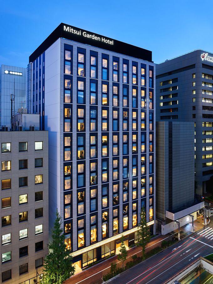 銀座4施設目の「三井ガーデンホテル銀座五丁目」オープン!