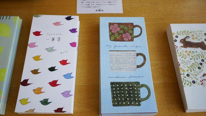 「日光珈琲 西参道」栃木の手仕事&手紙社の可愛い雑貨も!