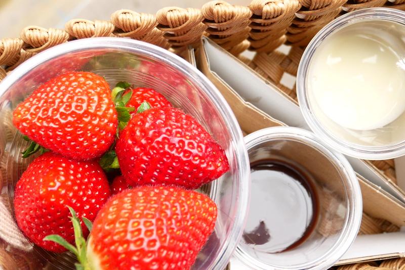 練乳やチョコレートソースも無料!