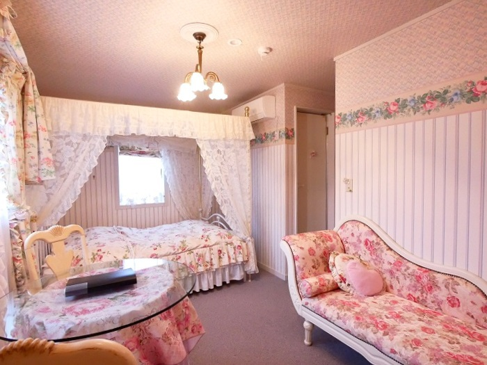 「プチホテル フェリーチェ」夢いっぱいのお部屋にうっとり!