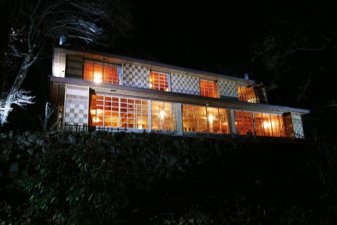 イタリア・英国大使館別荘記念公園ライトアップ