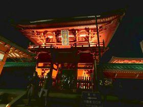 「ライトアップ奥日光」華厳の滝&歴史的文化財が闇の中に輝く!
