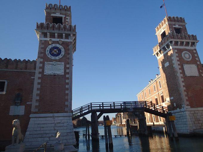 ベネチアの歴史を語るなら欠かせない!ベネチアの盛栄の要となった「国立造船所」を見に行こう