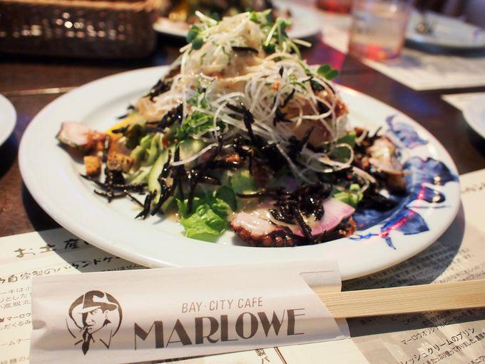 夕日や富士山も見える!ここで食べる名物料理!
