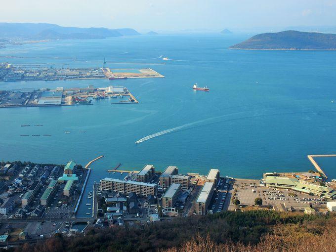 屋島山上は人気の観光スポット