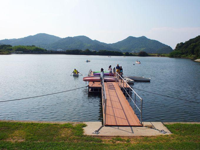 カヌー、ボートや釣り、アクティビティも充実