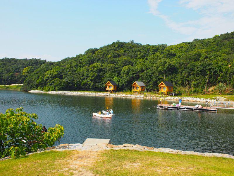 キャンプ初心者に!快適で自然も豊富 東かがわ市「大池オートキャンプ場」