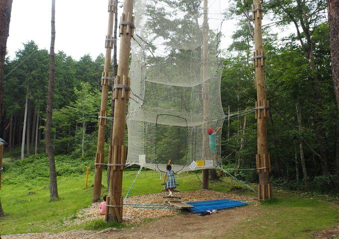 子連れキャンプには遊具は必須