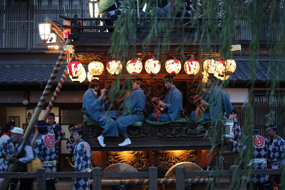 和楽器のオーケストラ⁉千葉県「佐原の大祭」は山車だけでなくお囃子のメロディが凄い