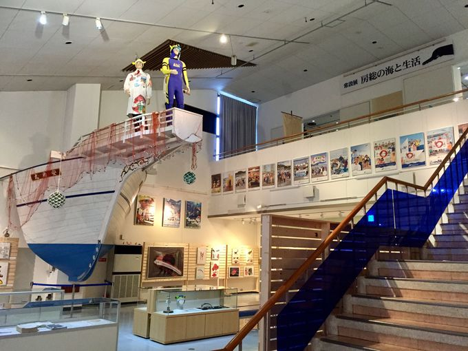 無料で入れる「渚の博物館」