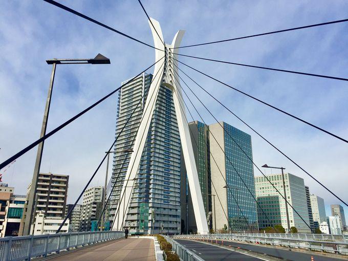 決意の象徴、デザインの美しい「中央大橋」