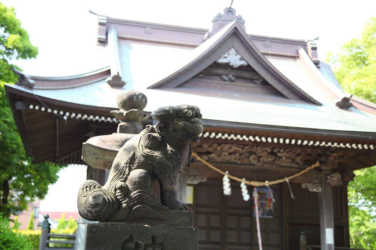 伝説の残る「吾妻神社」