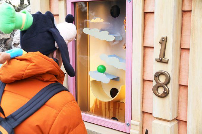 「カールじいさんの空飛ぶ家」のゲームブース