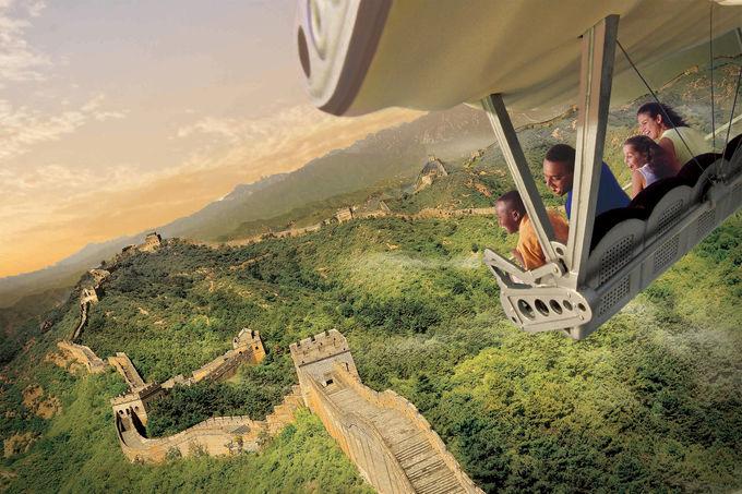 最新技術で世界を飛行旅行