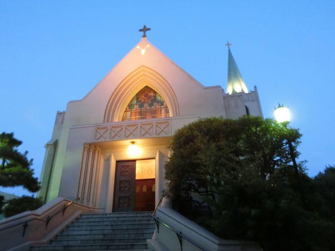歴史と伝統を今に伝える格式高き聖堂。山手カトリック教会
