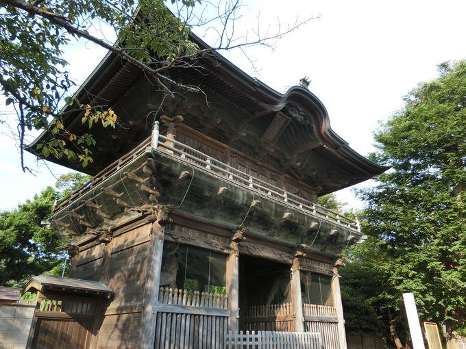 関東最大の「金剛力士像」は迫力満点!仁王門