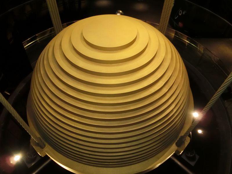 まさに銅のバウムクーヘン!「台北101」のTMDって何?