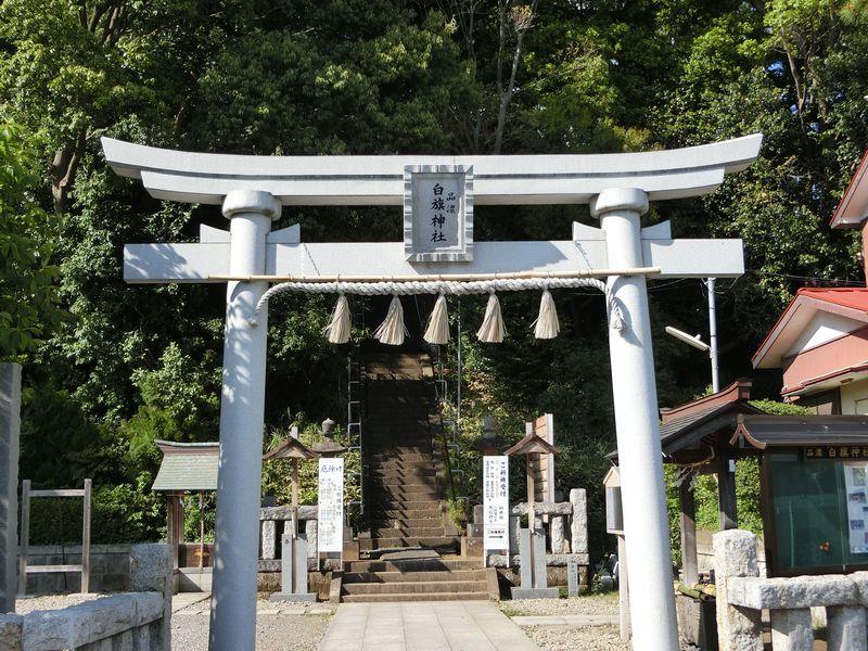 全国の「白旗神社」で8社のみ!東戸塚に祀られた傍流の祭神「源義経」