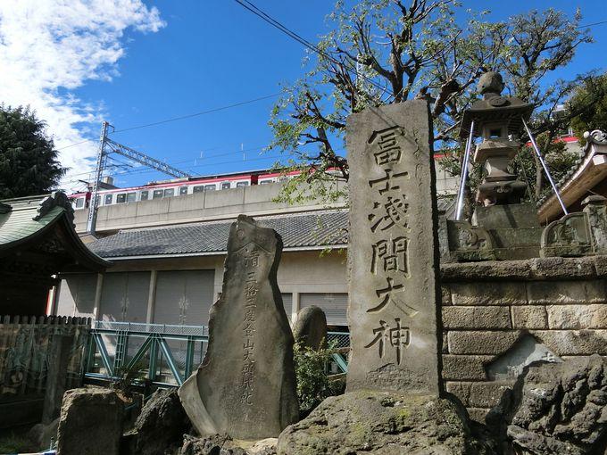 鮫洲の歴史が刻まれた石碑から漁業の隆盛を偲ぶ