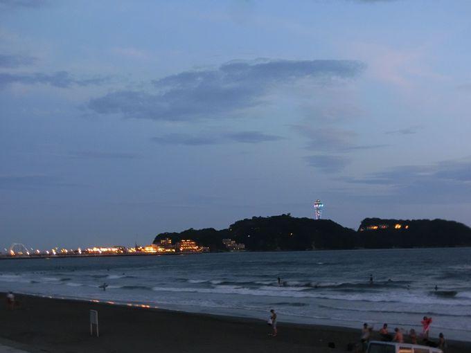 富士山と江ノ島の絶景タイムは?移り変わる光のマジック!