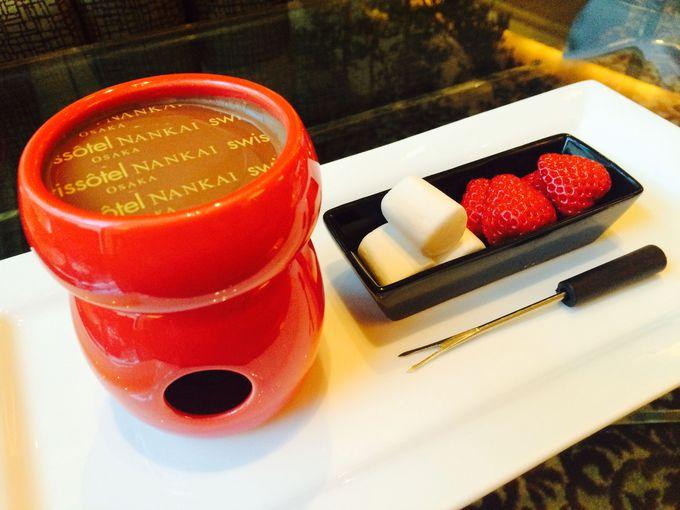 スイスホテル自慢のチョコレート