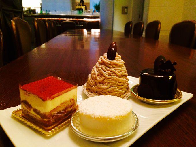 ホテルメイドのケーキをお土産にいかがですか?